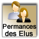 Permanences Elus